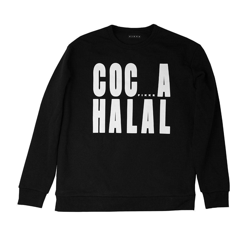 coca halal black front