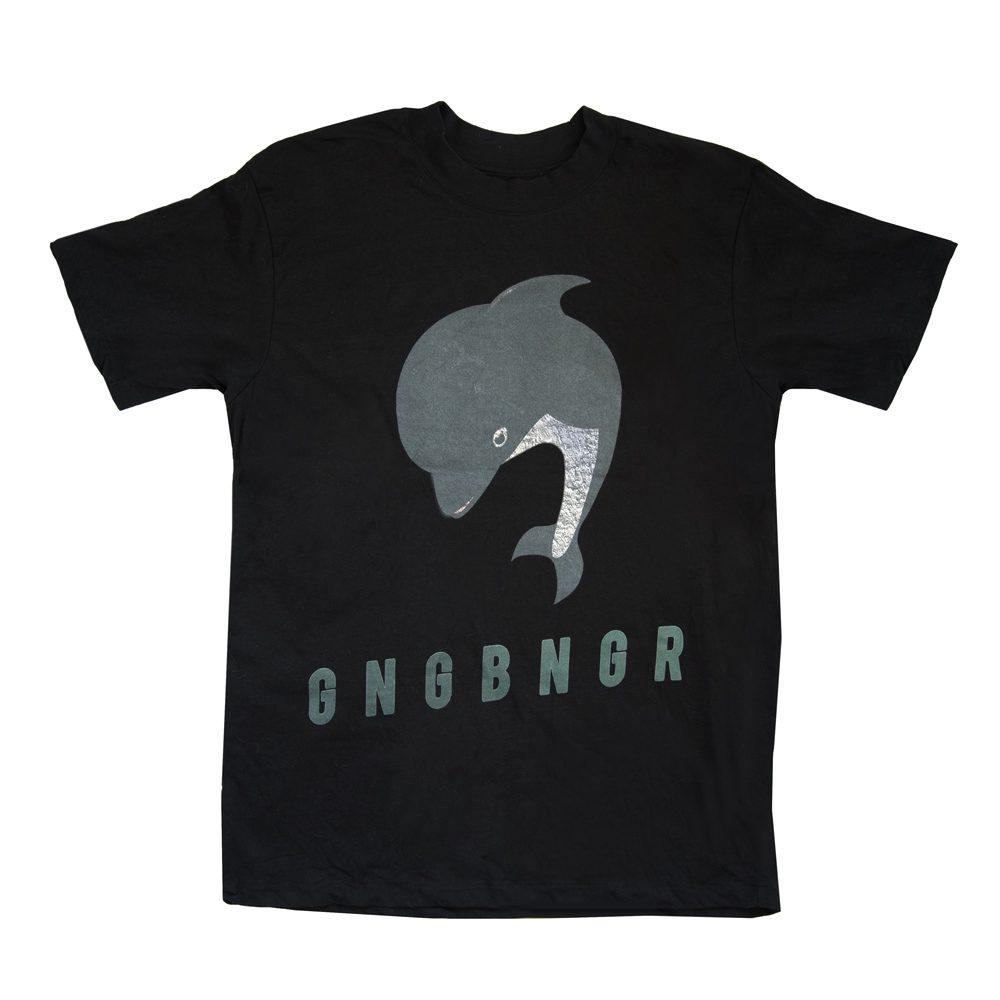 gangbanger shirt schwarz front