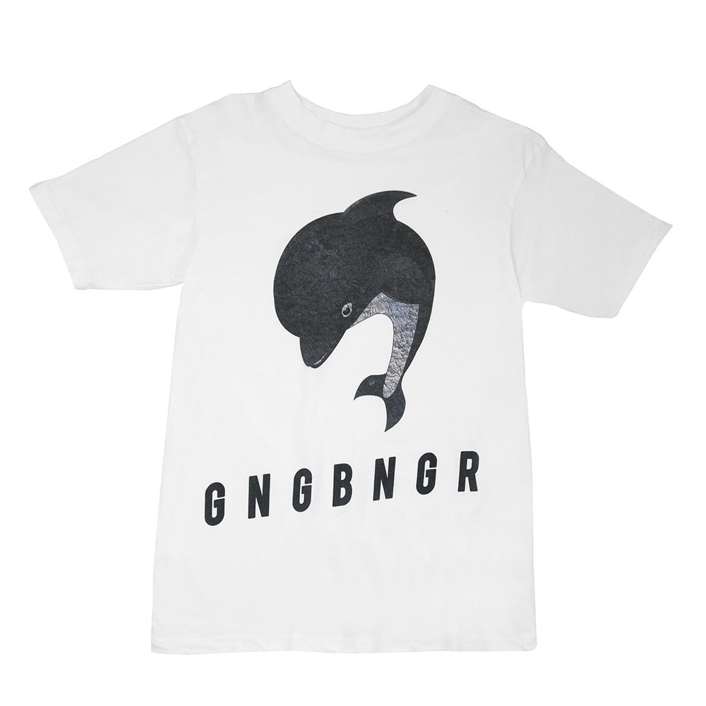 gangbanger shirt weiss front